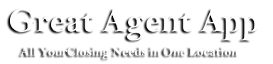 Great Agent App